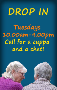 Drop in Tuesdays 10.00am-4.00pm
